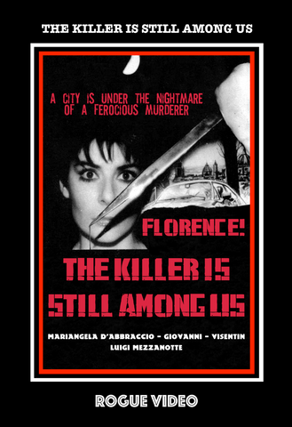 """The Killer Is Still Among Us"" (1986) rare horror / giallo DVD - ROGUE VIDEO: cult films & fiction."