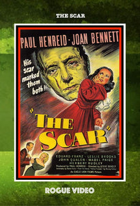 "ROGUE VIDEO rare horror DVDs / cult films & fiction: ""THE SCAR"""