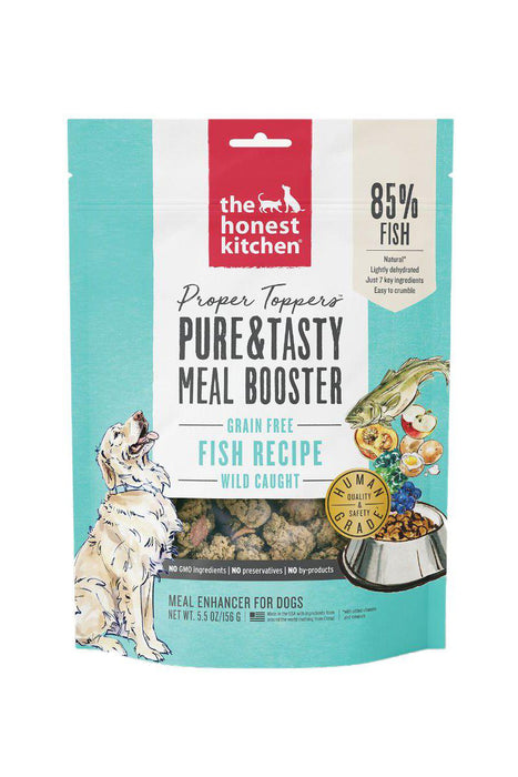 The Honest Kitchen Proper Toppers Fish Dog Food
