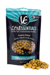 Vital Essentials Wild Alaskan Salmon Freeze-Dried Dog Treats