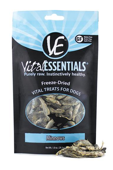 Vital Essentials Minnows Freeze-Dried Dog Treats