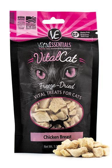 Vital Essentials Chicken Breast Freeze-Dried Cat Treats