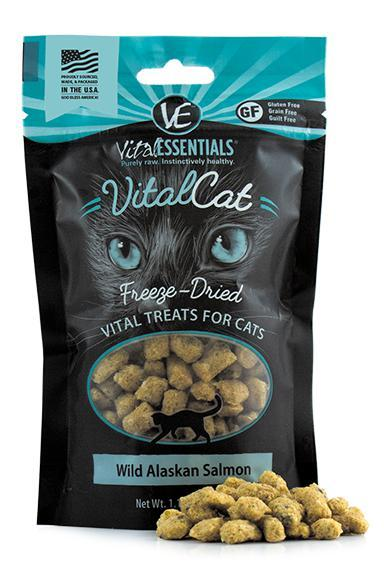 Vital Essentials Wild Alaskan Salmon Freeze-Dried Cat Treats