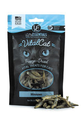 Vital Essentials Minnow Freeze-Dried Cat Treats