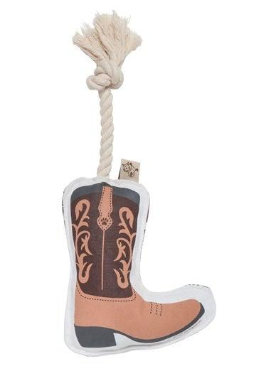 Ore' Pet Cowboy Boot Rope Dog Toy
