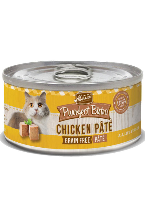 Merrick Purrfect Bistro Chicken Pate Canned Cat Food