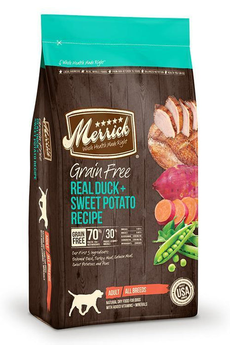 Merrick Duck & Sweet Potato Dry Dog Food