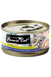 Fussie Cat Tuna with Threadfin Bream in Aspic shredded wet Cat Food
