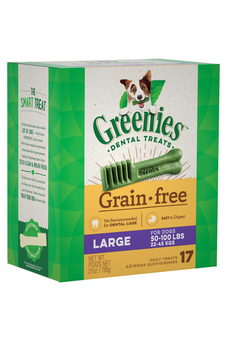Greenies Grain Free Large Dental Dog Treats