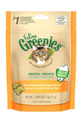 Greenies Oven Roasted Chicken Flavor Dental Cat Treats
