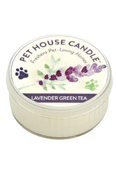 Pet House Candle Lavender Green Tea, 3 oz