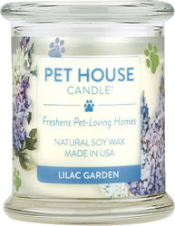 Pet House Candle, Lilac Garden