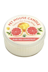 Pet House Candle Ruby Red Grapefruit, 3 oz
