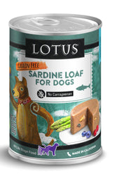 Lotus Sardine Loaf Canned Dog Food