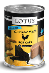 Lotus Chicken & Vegetable Pate Canned Cat Food, 12.5 oz