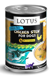 Lotus Chicken & Asparagus Stew Canned Dog Food