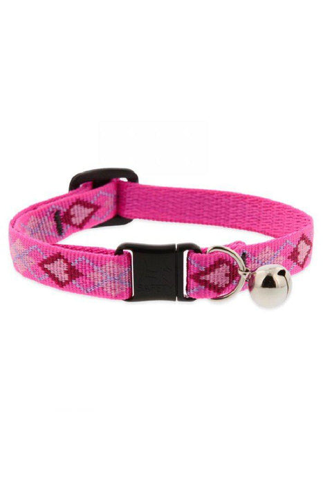 LupinePet Puppy Love Cat Safety Collar with Bell