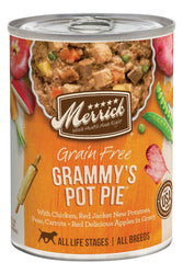 Merrick Grammys Pot Pie Classic Recipe Canned Dog Food