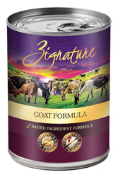Zignature Goat Canned Dog Food