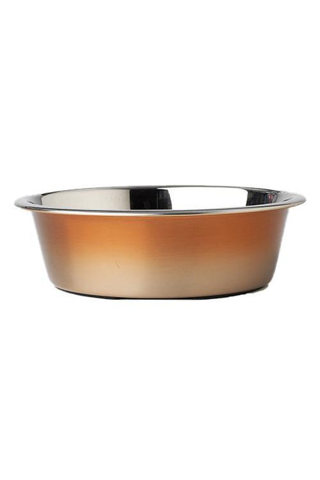 Petrageous Malta Copper Ombre Collection Dog Bowl
