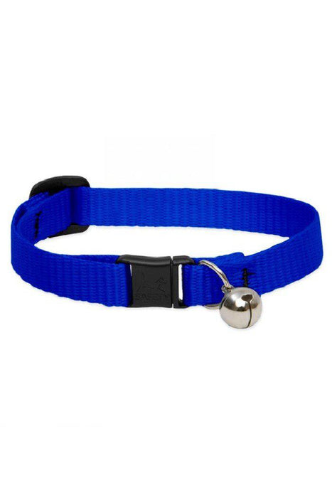 LupinePet Basics Blue Cat Safety Collar with Bell