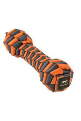 Tall Tails Braided Bone Orange Dog Toy