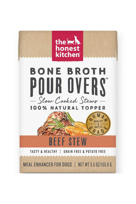 The Honest Kitchen Bone Broth Pour Over, Beef Stew