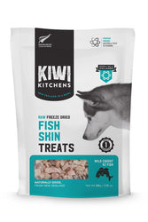 Kiwi Kitchens Freeze Dried Fish Skin Treats