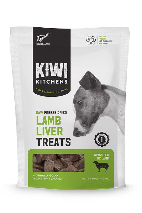 Kiwi Kitchens Freeze Dried Lamb Liver Treats