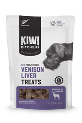 Kiwi Kitchens Freeze Dried Venison Liver Treats