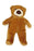 Fluff and Tuff Cubby Bear Stuffed Dog Toy