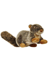 Fluff and Tuff Nuts Squirrel stuffed Dog Toy