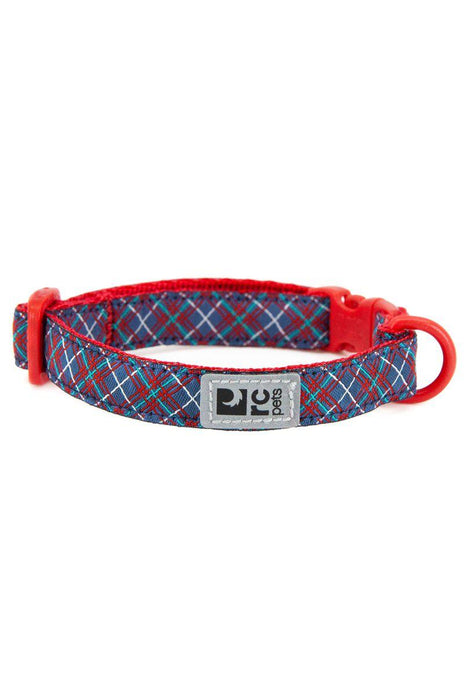 RC Pets Navy Tartan Breakaway Cat Collar