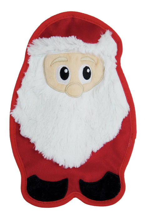 Outward Hound Invincibles Santa Dog Toy