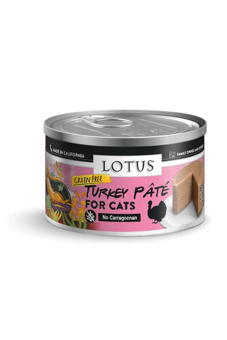 Lotus Turkey Pate Canned Cat Food