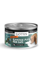 Lotus Sardine Pate Canned Cat Food, 2.75 oz