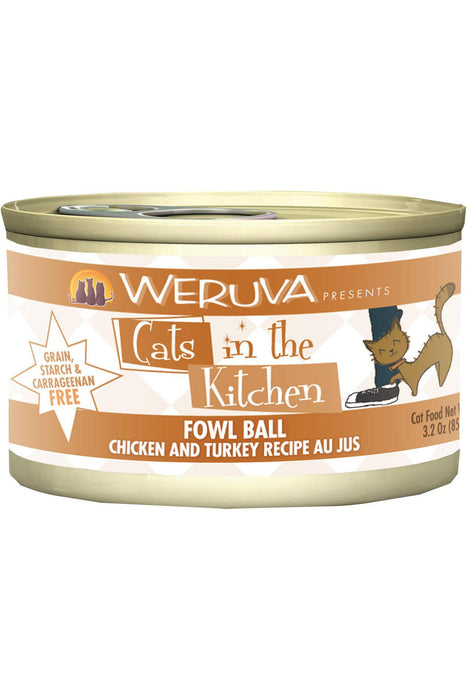 Cats in the Kitchen Fowl Ball Chicken & Turkey wet Cat Food
