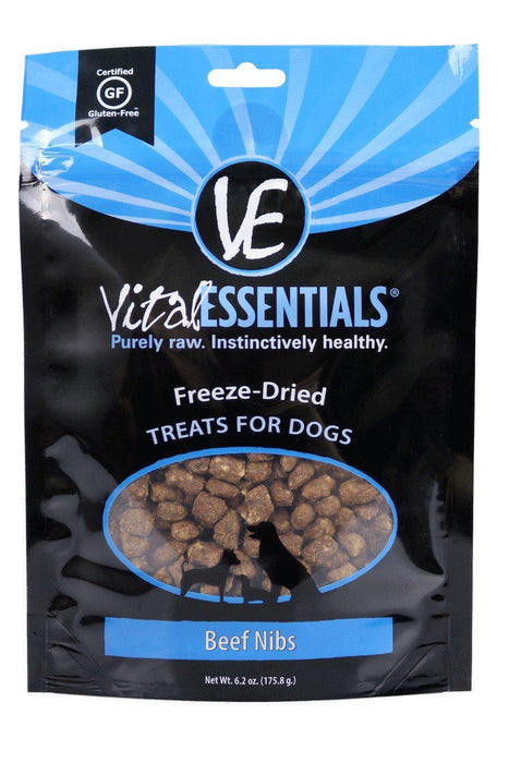 Vital Essentials Beef Nibs Freeze Dried Dog Treats