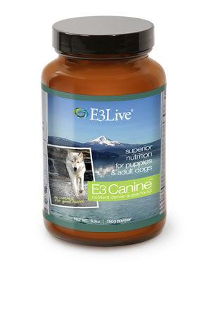 E3 Live Canine Nutrient Dense Superfood Dog Supplement