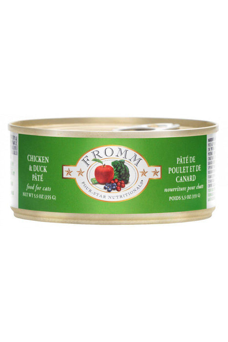 Fromm Four-Star Chicken and Duck Pate Canned Cat Food