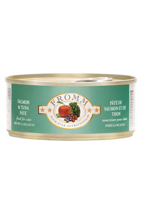 Fromm Four-Star Salmon and Tuna Pate Canned Cat Food