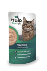 Nulo Freestyle Silky Mousse Chicken & Duck Cat Food Pouch