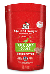 Stella & Chewy's Duck Duck Goose Frozen Raw Dog Food