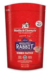 Stella & Chewy's Absolutely Rabbit Frozen Raw Dog Food