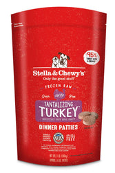 Stella & Chewy's Tantalizing Turkey Frozen Raw Dog Food