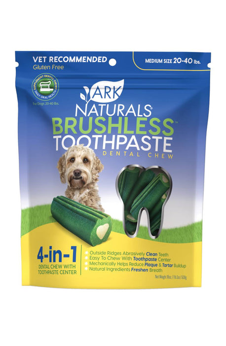 Ark Naturals Brushless Toothpaste For Dogs Medium