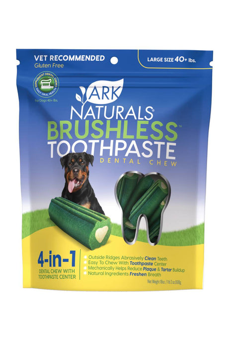 Ark Naturals Brushless Toothpaste For Dogs Large