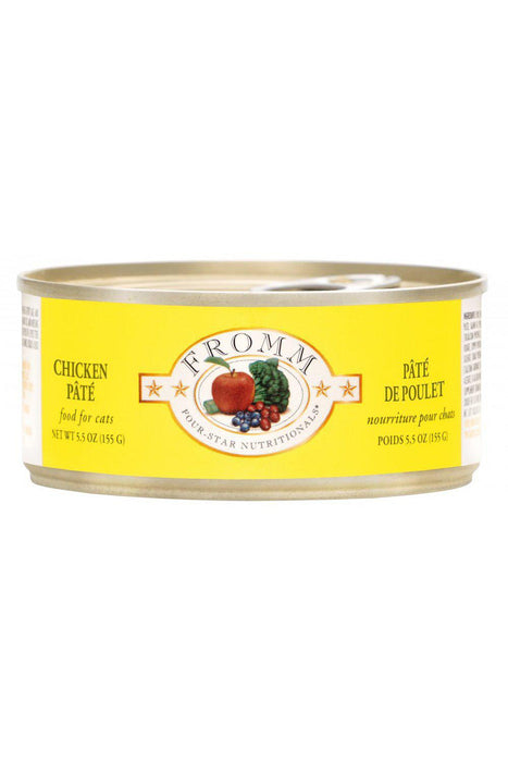 Fromm Four-Star Chicken Pate Canned Cat Food