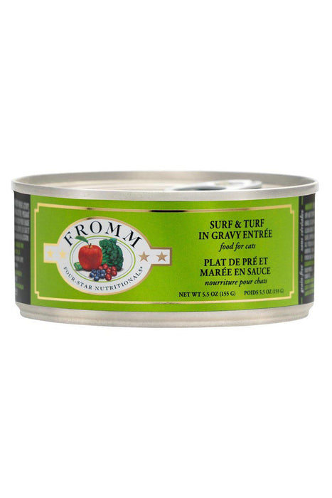 Fromm Four-Star Shredded Surf and Turf Canned Cat Food