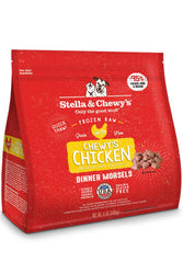 Stella & Chewy's Chicken Morsels Frozen Raw Dog Food